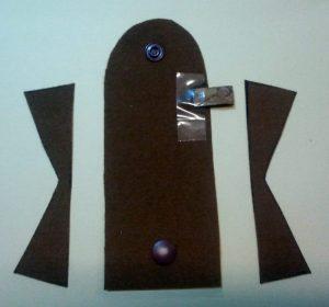 Schlüsselanhänger-Mäppchen Fertigungsbild 3