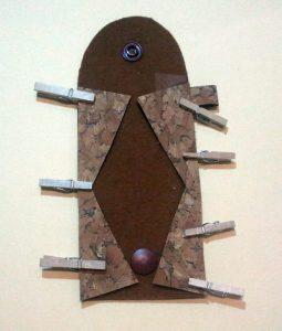Schlüsselanhänger-Mäppchen Fertigungsbild 4