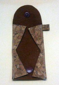 Schlüsselanhänger-Mäppchen Fertigungsbild 5