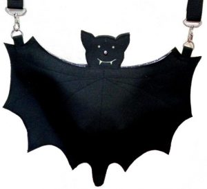 Halloween-Fledermaus-Tasche / Bat bag