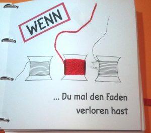 Wenn-Buch Faden