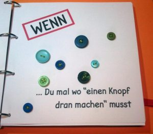 Wenn-Buch Knopf