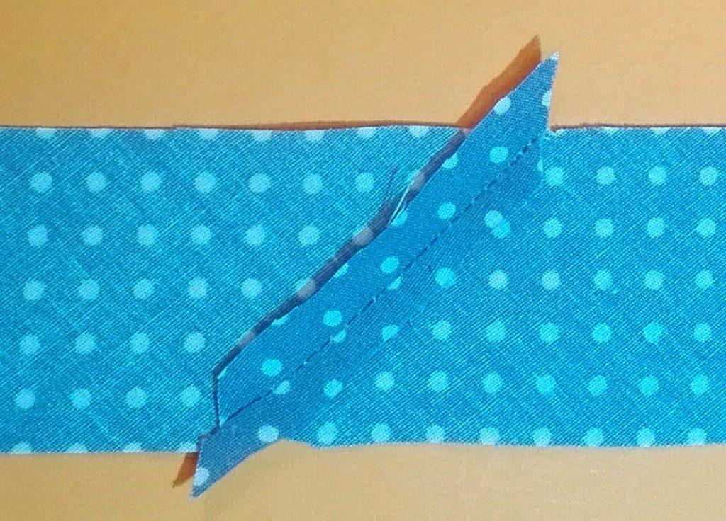 Schrägband Herstellen Mit Papierschablone Made My Diy