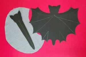 Halloween – Fledermaustasche – Bat bag 1