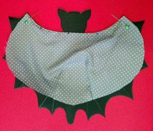 Halloween – Fledermaustasche – Bat bag 8