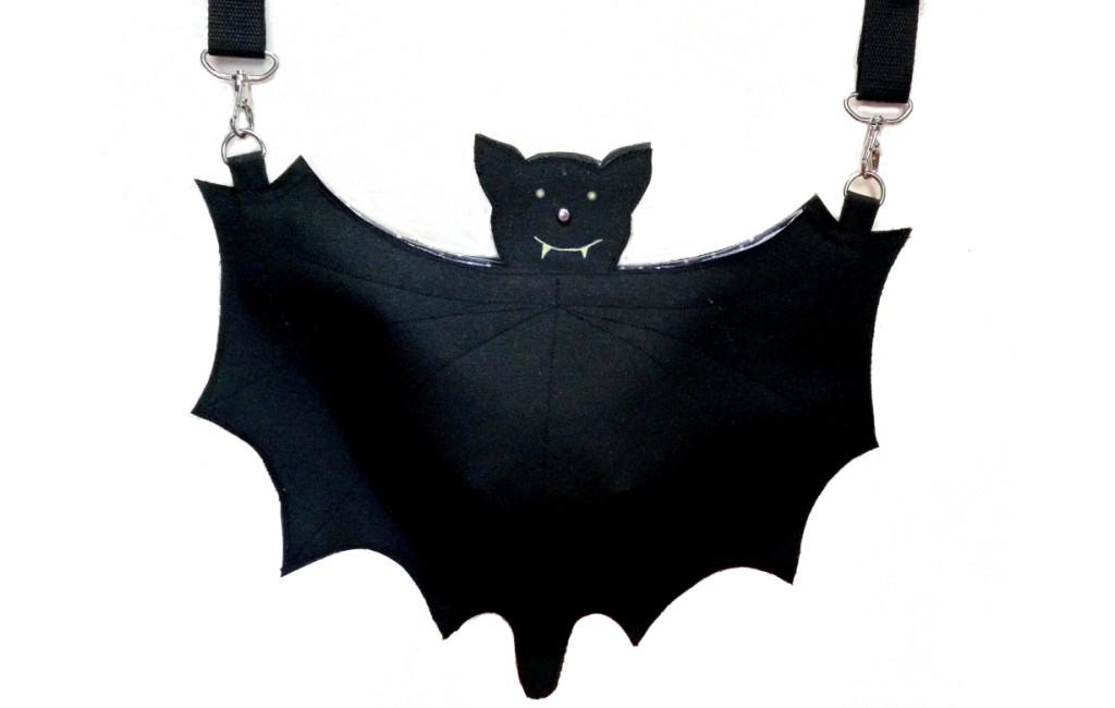 Halloween – Fledermaustasche – Bat bag 12