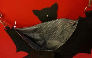 Halloween – Fledermaustasche – Bat bag 14
