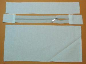 Innentasche mit Reißverschluss 2a