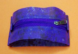 Runde Tasche mit Futter 09