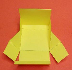 Faltgeldbeutel aus Papier 07