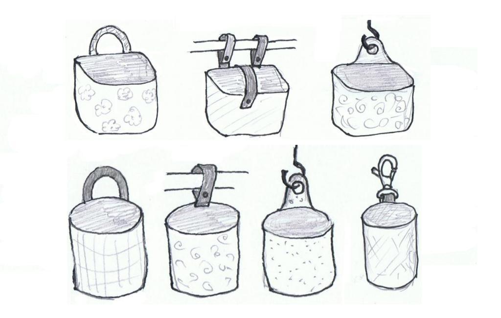 Hängeutensilo-Varianten