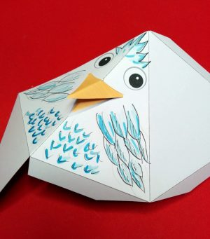 Brillenhalter-Vogel 06