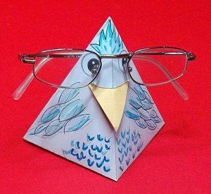 Brillenhalter-Vogel 12