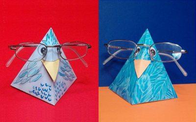 Brillenhalter Brillenvogel