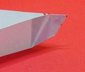 dreieckige Schale aus Papier 05