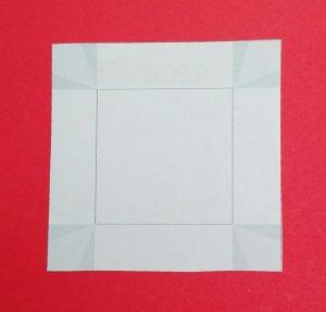 viereckige Papierschale 01