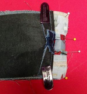 Jeans-Herrentasche 15
