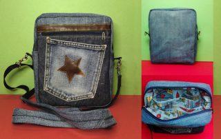 Jeans-Herrentasche f03x